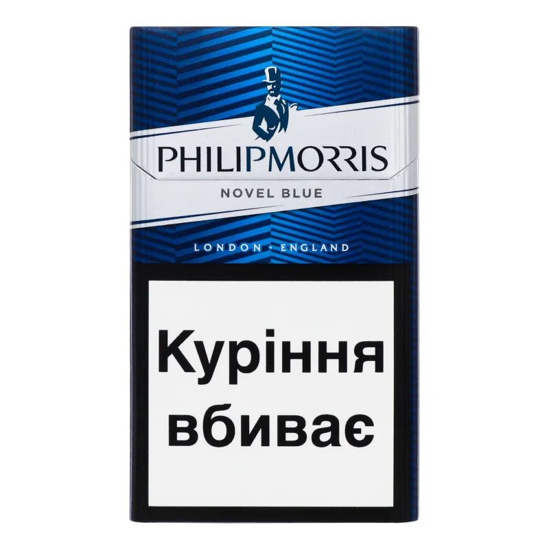 Сигарети Philip Morris Novel Blue